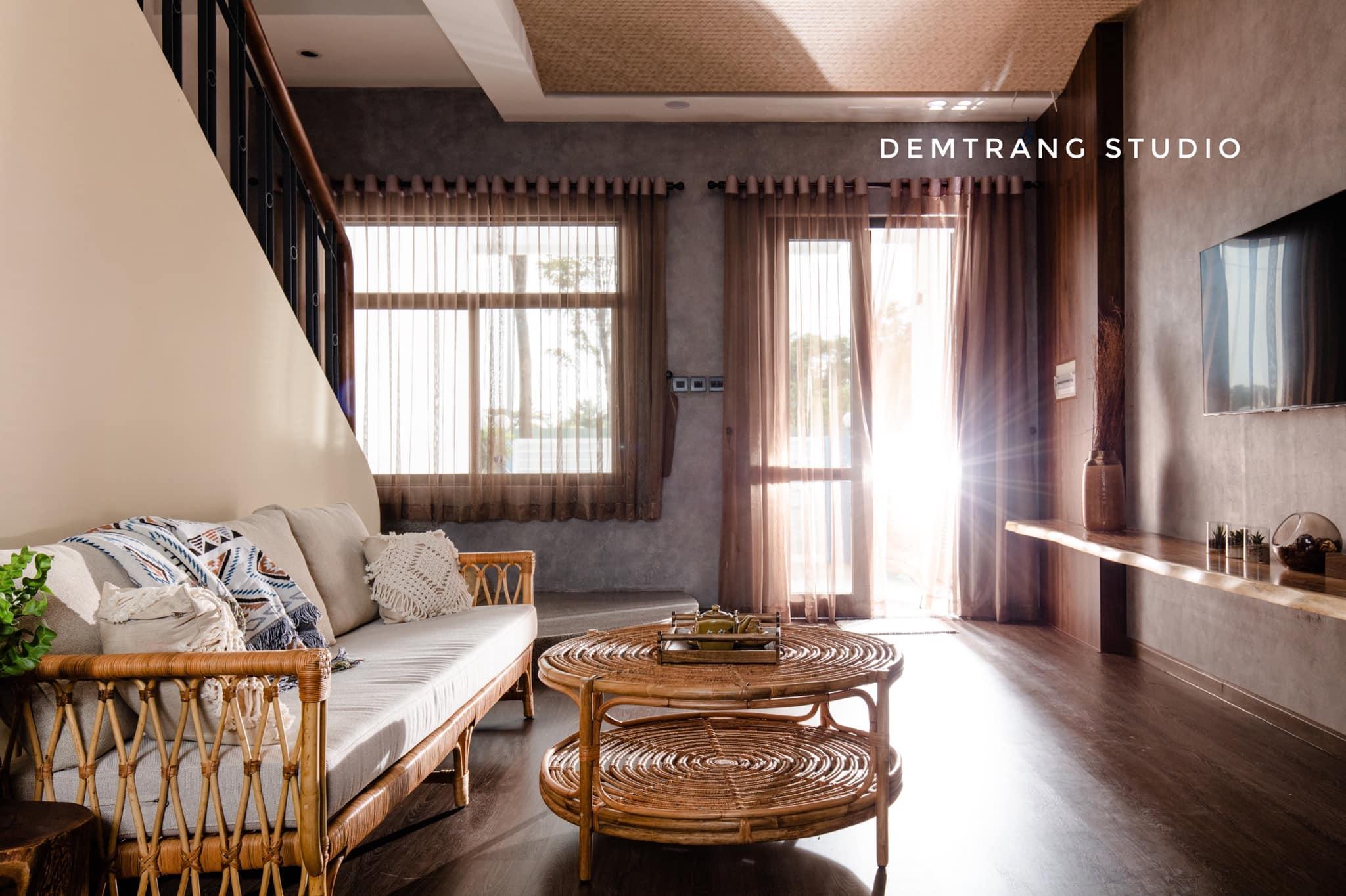 Thiết kế kiến trúc – nội thất dự án biệt thự Thăng Long 01