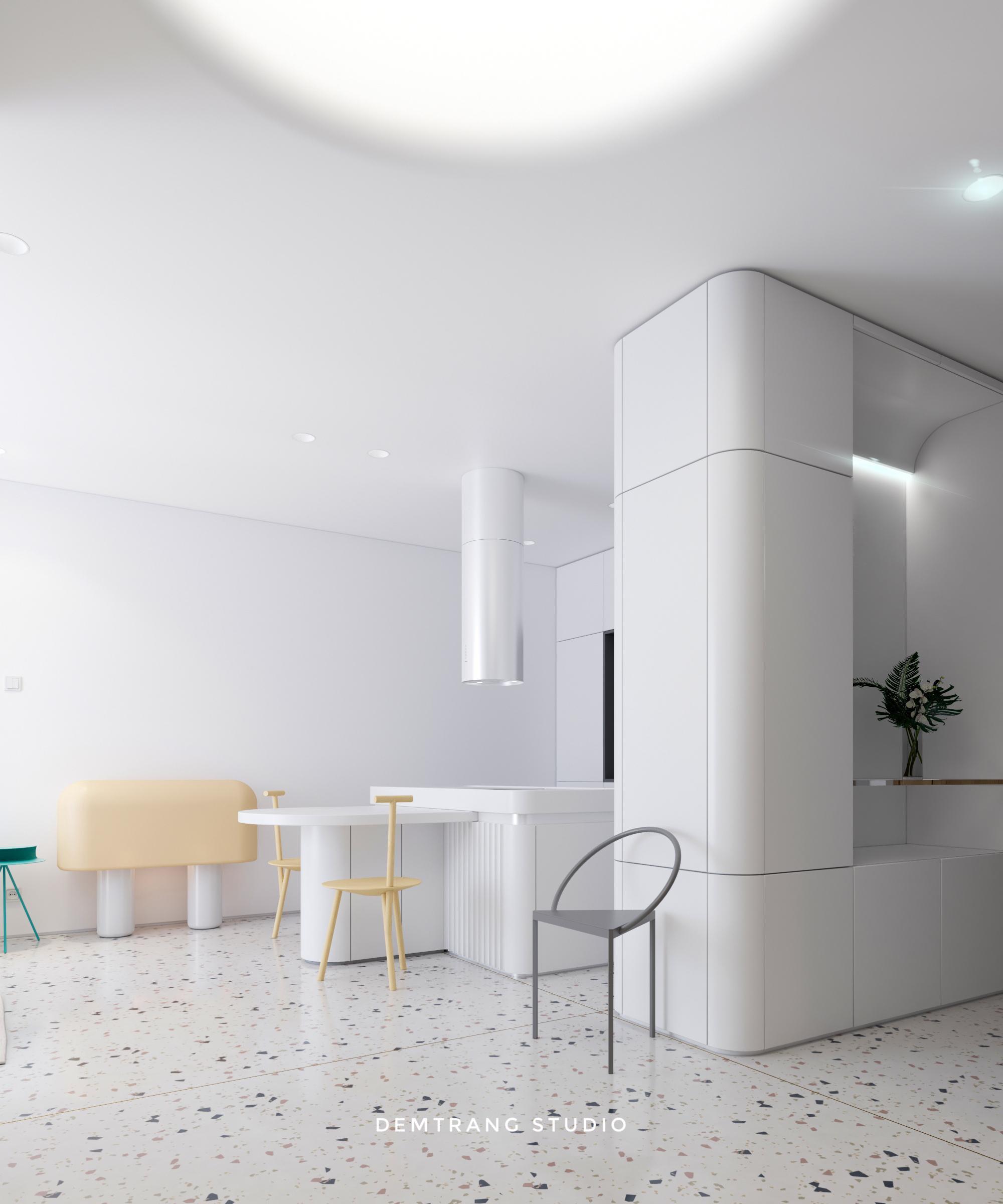 Thiết kế nội thất căn hộ Sun Avenue 7